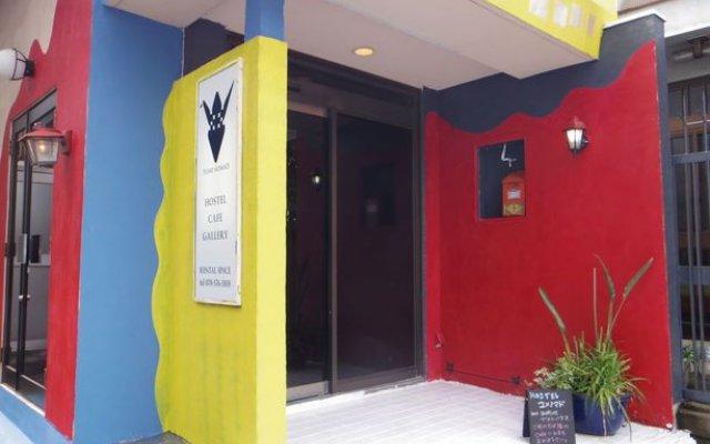 Hostel Yume-nomad Кобе вид на фасад