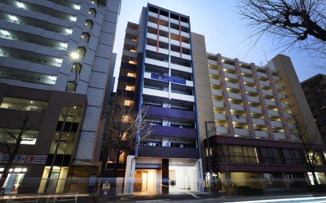 Residence Hotel Hakata 14 Фукуока вид на фасад