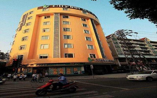 Отель Jinjianginn Style Zhongshan HuBin Китай, Чжуншань - отзывы, цены и фото номеров - забронировать отель Jinjianginn Style Zhongshan HuBin онлайн вид на фасад