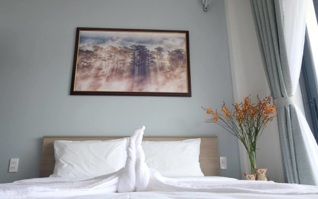 Отель Dalat Memory Inn Далат комната для гостей