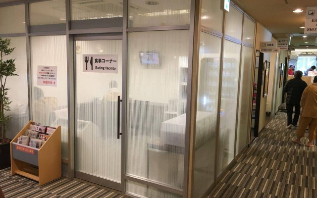 Отель Capsule and Sauna New Century Япония, Токио - отзывы, цены и фото номеров - забронировать отель Capsule and Sauna New Century онлайн вид на фасад