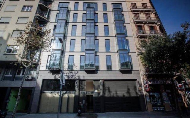 Апартаменты Angla Boutique Apartments Consell de Cent вид на фасад