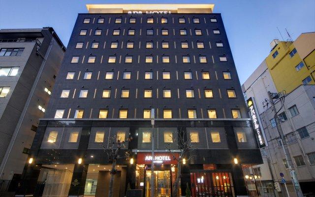 APA Hotel Hatchobori-eki Minami вид на фасад
