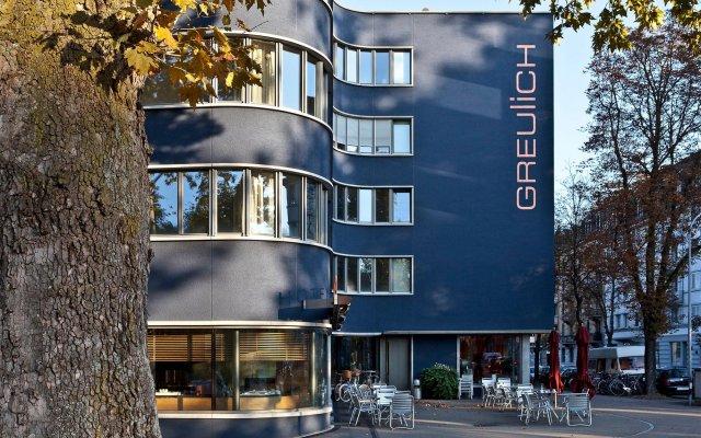 Отель Greulich Design & Lifestyle Hotel Швейцария, Цюрих - отзывы, цены и фото номеров - забронировать отель Greulich Design & Lifestyle Hotel онлайн вид на фасад