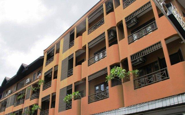 Отель Keerati Homestay Таиланд, Паттайя - отзывы, цены и фото номеров - забронировать отель Keerati Homestay онлайн вид на фасад