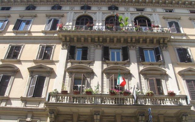 Отель Aristotele вид на фасад