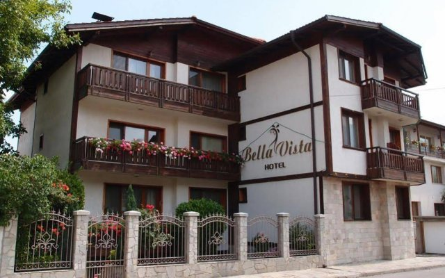 Bella Vista Family Hotel Банско вид на фасад