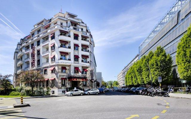 Отель Eden Hotel Швейцария, Женева - отзывы, цены и фото номеров - забронировать отель Eden Hotel онлайн вид на фасад