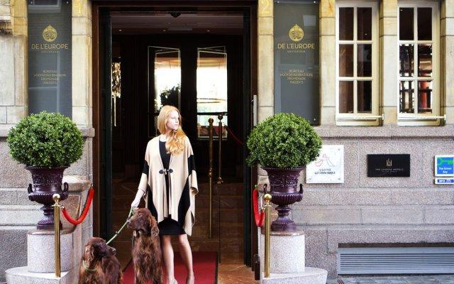 Отель De L europe Amsterdam The Leading Hotels Of The World Амстердам вид на фасад