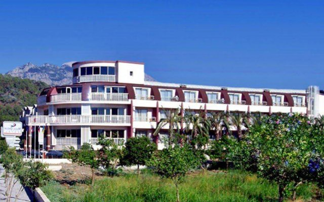 Отель Botanik Magic Dream Resort вид на фасад