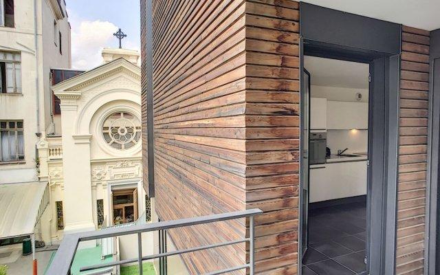Отель Hugo Park Terrasse by Nestor&Jeeves вид на фасад