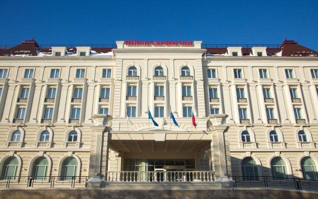 Гостиница Хилтон Гарден Инн Ульяновск вид на фасад