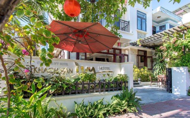 Отель Hoi An Ivy Hotel Вьетнам, Хойан - отзывы, цены и фото номеров - забронировать отель Hoi An Ivy Hotel онлайн вид на фасад