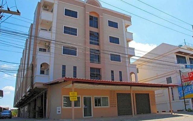 DMa Hotel вид на фасад