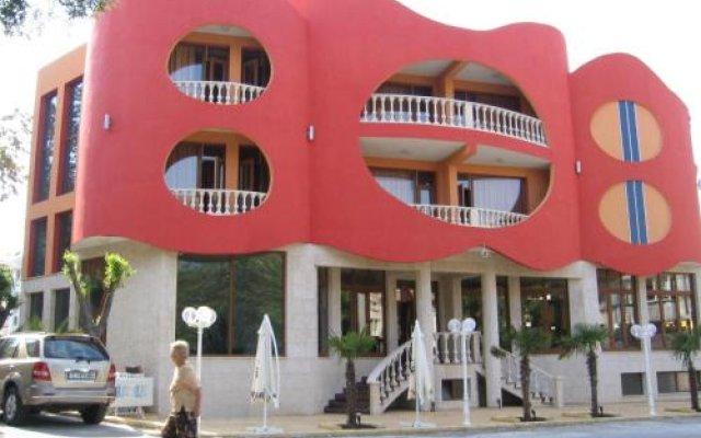 Hotel Manz 2 Поморие вид на фасад