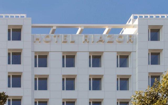 Hotel Riazor вид на фасад