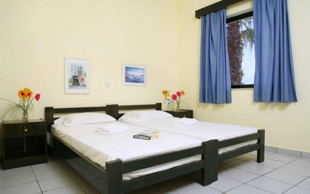 Отель Kaissa Beach Греция, Гувес - 1 отзыв об отеле, цены и фото номеров - забронировать отель Kaissa Beach онлайн комната для гостей