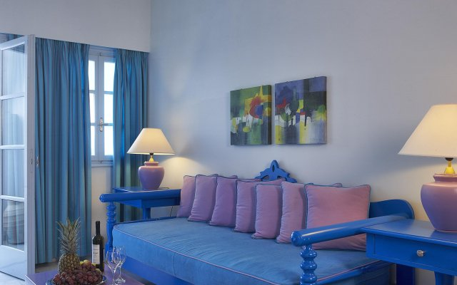 Отель Santorini Kastelli Resort комната для гостей