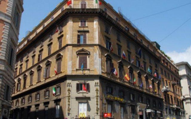Repubblica Hotel Rome вид на фасад