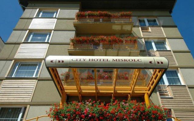 City Hotel Miskolc вид на фасад