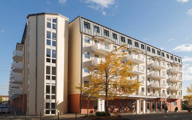 Best Western Hotel Nuernberg City West вид на фасад
