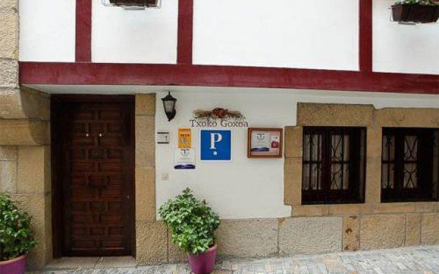 Отель Txoko Goxoa Испания, Фуэнтеррабиа - отзывы, цены и фото номеров - забронировать отель Txoko Goxoa онлайн вид на фасад