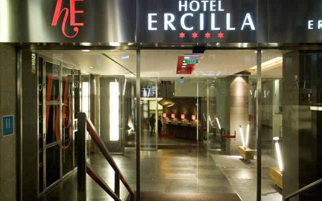 Hotel Ercilla вид на фасад
