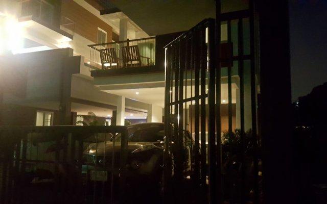 Отель Fu Suvarnabhumi Бангкок вид на фасад