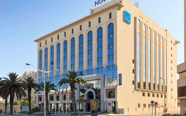 Novotel Tunis in Tunis, Tunisia from 146$, photos, reviews - zenhotels.com hotel front