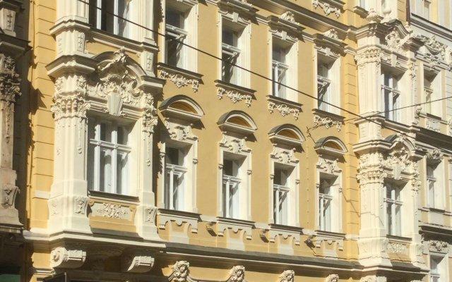 Отель Residence Milada Чехия, Прага - отзывы, цены и фото номеров - забронировать отель Residence Milada онлайн вид на фасад