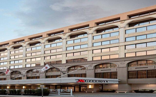 Отель Washington Marriott Georgetown вид на фасад