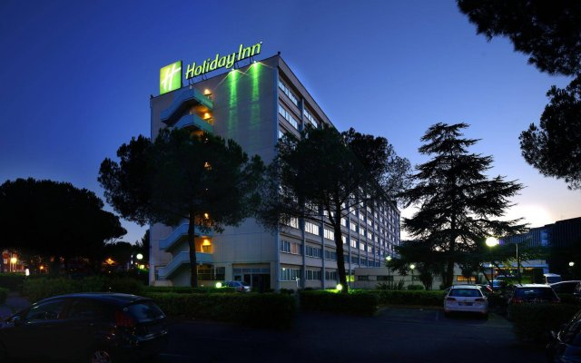Отель Holiday Inn Rome- Eur Parco Dei Medici Рим вид на фасад