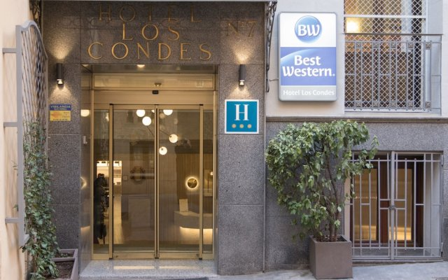 Best Western Hotel Los Condes вид на фасад