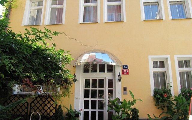 Апартаменты Studio under Vysehrad castle II. Прага вид на фасад