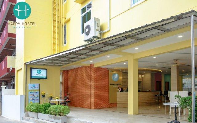 Happy Hostel вид на фасад