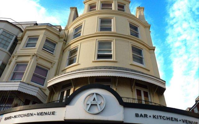 Amsterdam Hotel Brighton вид на фасад