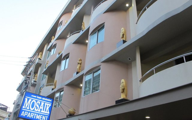 Апартаменты Mosaik Luxury Apartments вид на фасад
