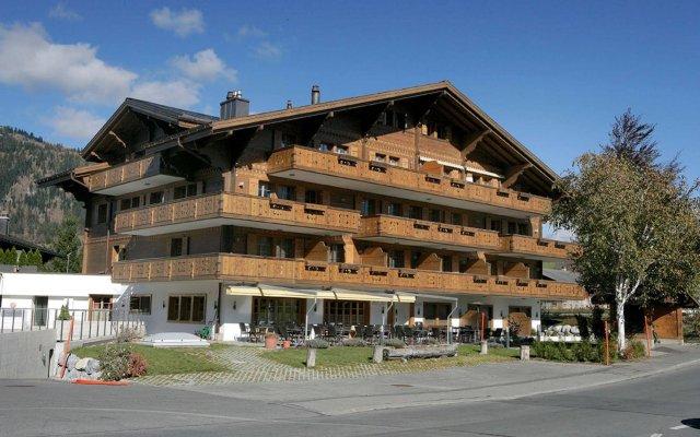 Hotel Bellerive Gstaad вид на фасад