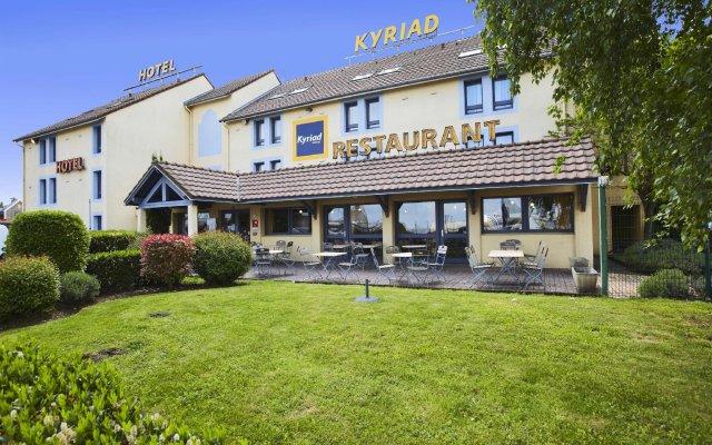 Hotel Kyriad Beauvais Sud вид на фасад