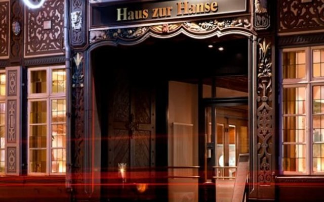 Hotel im Haus zur Hanse вид на фасад