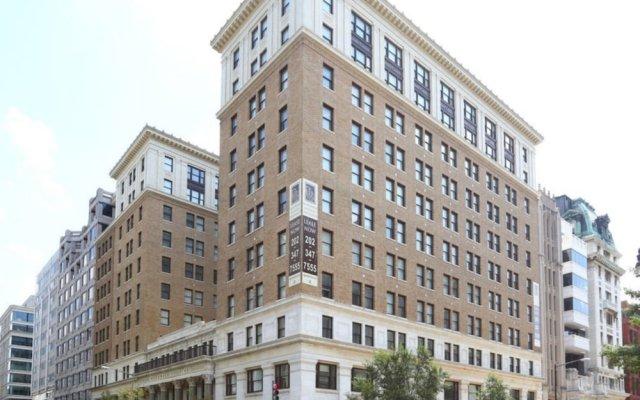 Отель Bluebird Suites DC Financial District США, Вашингтон - отзывы, цены и фото номеров - забронировать отель Bluebird Suites DC Financial District онлайн вид на фасад