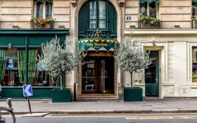 Отель Villa Panthéon Франция, Париж - 3 отзыва об отеле, цены и фото номеров - забронировать отель Villa Panthéon онлайн вид на фасад