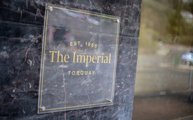 Отель The Imperial Torquay вид на фасад