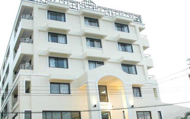 Отель Suvarnabhumi Apartment Таиланд, Бангкок - отзывы, цены и фото номеров - забронировать отель Suvarnabhumi Apartment онлайн вид на фасад