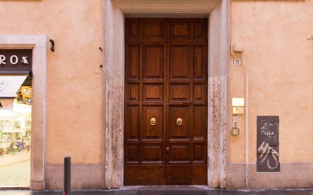 Отель Tree Charme Pantheon Рим вид на фасад