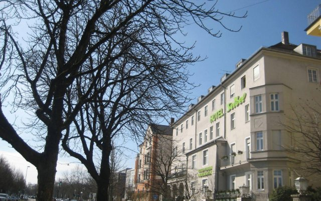 Отель SEIBEL Мюнхен вид на фасад