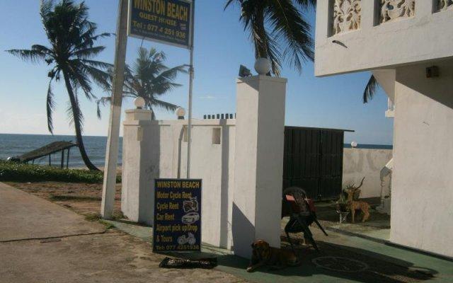 Отель Winston Beach Guest House Шри-Ланка, Негомбо - отзывы, цены и фото номеров - забронировать отель Winston Beach Guest House онлайн вид на фасад