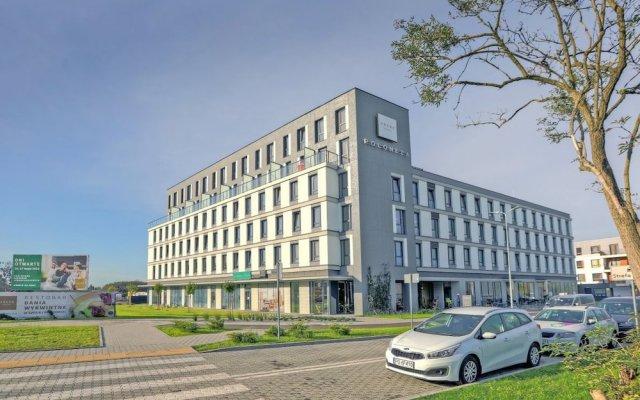 Отель Arche Hotel Poloneza Польша, Варшава - отзывы, цены и фото номеров - забронировать отель Arche Hotel Poloneza онлайн вид на фасад