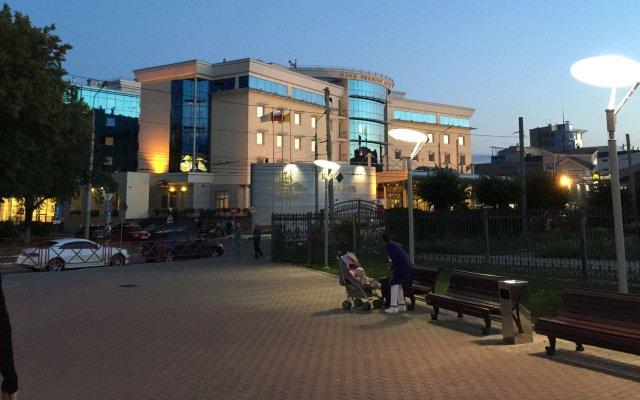 Гостиница Ринг Премьер Отель в Ярославле - забронировать гостиницу Ринг Премьер Отель, цены и фото номеров Ярославль вид на фасад