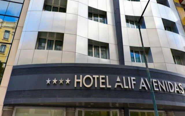 Hotel Alif Avenidas вид на фасад